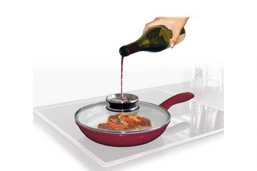 couvercle aromatique po le et casserole vapeur accessoire cuisine innovmania. Black Bedroom Furniture Sets. Home Design Ideas