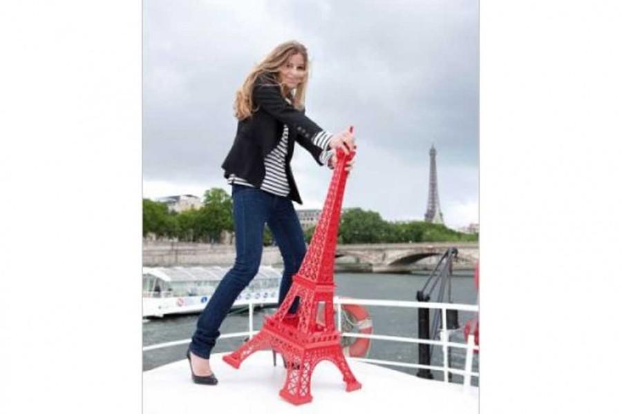 Merci Gustave Ze Big Tour Eiffel décoration géante Ze Big 1,1 m
