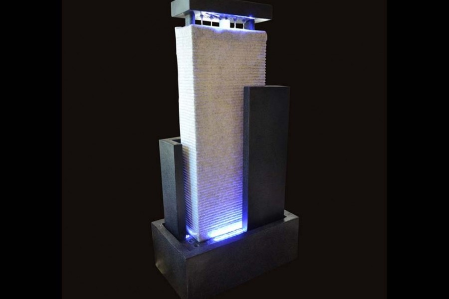 Fontaine Mur DEau Led Mura Xl Int  Ext  Fontaine Relaxation Anti