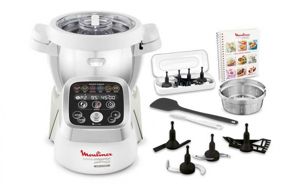 Moulinex robot cuiseur companion hf800a10 appareil lectrom nager innovmania - Appareil electromenager cuisine ...