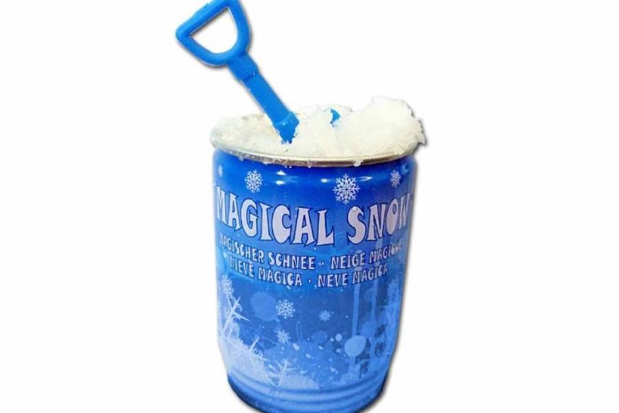 Canette flocons de neige artificielle