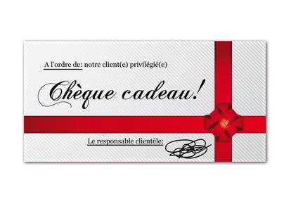 Image Chèque Cadeau chèque cadeau : cadeau chèques cadeaux - innovmania